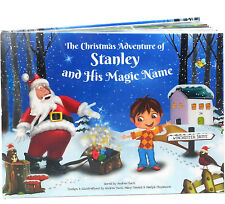 Clever Personalised Xmas Story Book for Kids - Santa Claus  - PAPERBACK