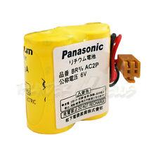 Panasonic 6V BR 2/3 AC2P Single Use Lithium battery PLC with Plug US Free Ship
