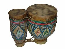 Moroccan Handmade Drum Tabla Shesham Set Darbouka Doumbek Tombak Bongo large