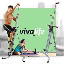Vertical Climber Cardio Machine Exercise Stepper Workout Fitness Gym Equipment J