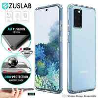 For Samsung Galaxy S20 Plus Ultra S10 S10e 5G Case ZUSLAB Clear Heavy Duty Cover