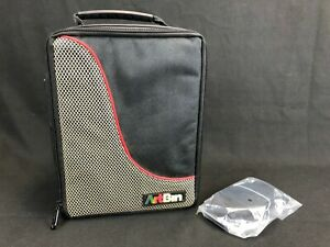 Art Bin Craft Storage Tote Bag No Plastic Cases - 8 x 8.5 x 4.5 Inches Strap