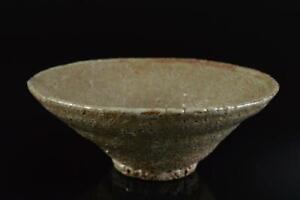 L790: Korean Lý Dynasty Green glaze TEA BOWL Green tea tool Tea Ceremony