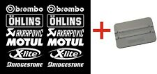 Brembo Öhlins Akrapovic Motorsport Sponsors Sticker Racing Set Motorcycle Car