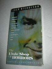 THE LITTLE SHOP OF HORRORS, JACK NICHOLSON, COLLECTORS EDITION, VHS , 2000