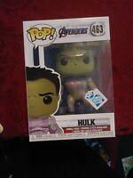 Funko POP! Marvel HULK #463 Avengers Endgame GameStop Insider Club Exclusive