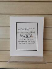 Charlie Mackesy book extract mounted. The boy, the mole,the fox and the horse J