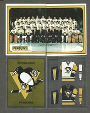 1988-89 Panini Pittsburgh PenguinsTeam Set of 16, Mario Lemieux, Paul Coffey...