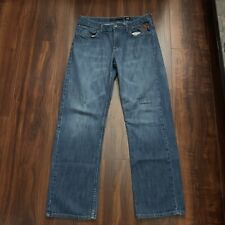Ed Hardy Embroidered Jeans Mens Size 30x29