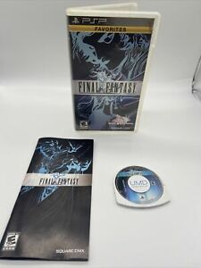 Final Fantasy 20th Anniversary (Sony PSP, 2007), Complete in Box CIB, Tested