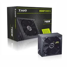 Fuente de alimentación PC ATX TooQ 700W negra Ventilador 140mm TQEP-700SP