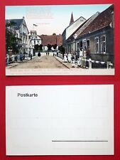 AK TSCHICHERTZIG bei Züllichau um 1900 Strassenpartie mit Restaurant    ( 26845