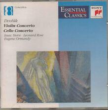 DVORVAK VIOLIN CONCERTO CELLO CONCERTO SONY CLASSICAL CD 1992