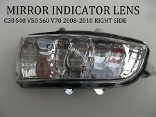 Volvo Wing Mirror Indicator Lens S40 V50 C30 S60 V70 RIGHT side replacment