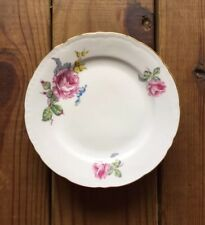 Fine Bohemian China made in Czechoslovakia vintage collection 6 dessert plates