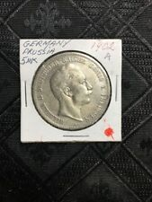 1902 A Prussia Germany 5 Mark Kaiser Willhelm crown Silver KM# 523