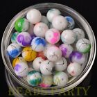 New 20pcs 10mm Round Loose Spacer Glass Beads Jewelry Making Mixed Color