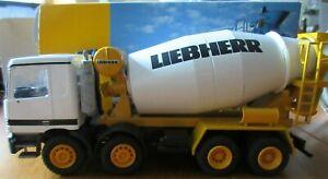 Conrad 1.50 Mercedes Lorry Liebherr HTM 904 Cement Mixer Fahrmischer 40119/0 HTF