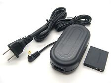 AC Power Adapter + DC Coupler for Canon ACK-DC40 PowerShot SD770 IS SD980 IS New