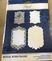 Tattered Lace Royal Wish Frame, Card Shape, Metal  Die RRP 25 For Card Making