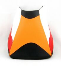 Front Rider Seat Leather Cover For Honda CBR 1000 RR 2004-2007 Repsol P