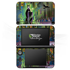 Nintendo 3 DS XL Folie Aufkleber Skin - Maleficent