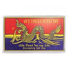 MATCHES PHAYA NAGA WOODEN portable 180 stalk Product Thailand Easy Use premium