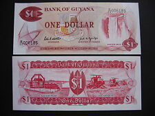 GUYANA  Banknote from 1989  (P21f)  UNC