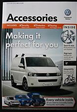 VW ACCESSORIES BROCHURE - TRANSPORTER / CRAFTER / CARAVELLE/ CADDY - 2012