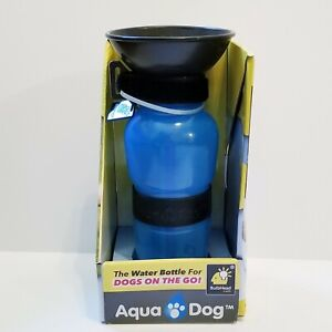NEW AQUA DOG  18 OZ. WATER BOTTLE FOR DOGS CLEAN FRESH WATER BPA FREE