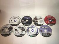 Playstation 2 Sports Game Lot Of 8