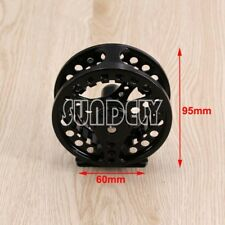 Aluminum Fly Fishing Reel 7/8 Left and Right Hand Retrieve 95mm Black AU