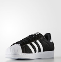 Adidas Originals Superstar Black White Sneakers Shoes S75963 Sz5-12
