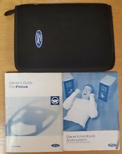 GENUINE FORD FOCUS HANDBOOK OWNERS MANUAL 2003-2007 PACK E-174