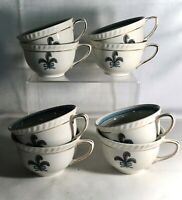8 Johnson Brothers Prince Of Wales Flat Cups
