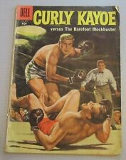 CURLY KAYOE versus The Barefoot Blockbuster DELL 1958 no.851