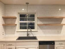 Natural Color Floating Shelf - Rustic Floating Shelves - HARDWARE INCLUDED