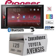 Pioneer Autoradio für Toyota Avensis T25 Bluetooth MP3 USB KFZ PKW Einbauzubehör