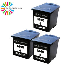 3 Non-OEM Replaces For Samsung M40 Black Fax Ink Cartridge