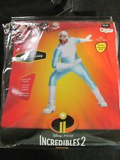Frozone ~Incredibles 2 Adult Costume Size L-XL 42-46 Deluxe New Halloween