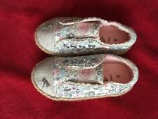 Next Girl Sneakers Espadrilles Infant Size 4