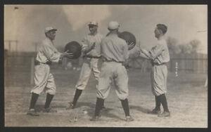 "1910s Orig BB Press Photo - ""Spring Training Exercise"""