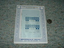 Microscale decals N 60-4096 APL Thrall Double stack cars 1986+ A79