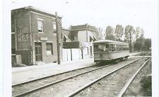 Vintage BTC  #6143 Interurban near Rt. 31 near W. Md. crossing orig. b&w photo