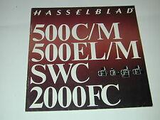 HASSELBLAD  publicité 500 CM ELM SWC 2000FC   photo photographie