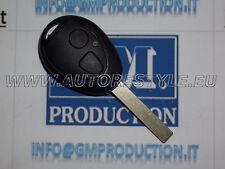 Chiave cover scocca guscio per telecomando 2 tasti MINI e Land Rover 75 - vuoto