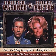 """PORTER WAGONER & DOLLY PARTON, CD """"ALL AMERICAN COUNTRY"""" NEW SEALED"""