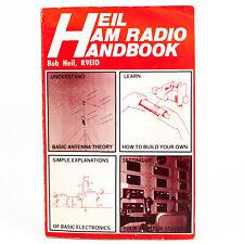 Heil HAM Radio Handbook by Bob Heil 1st Edition 2nd Printing 1988