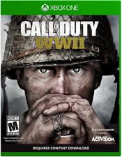 Call of Duty: WWII Microsoft XBox One XBOX 1 COD World War 2 BRAND NEW SEALED