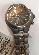 TISSOT CHRONO QUARZ TITANIUM WATCH MEN RELOJ